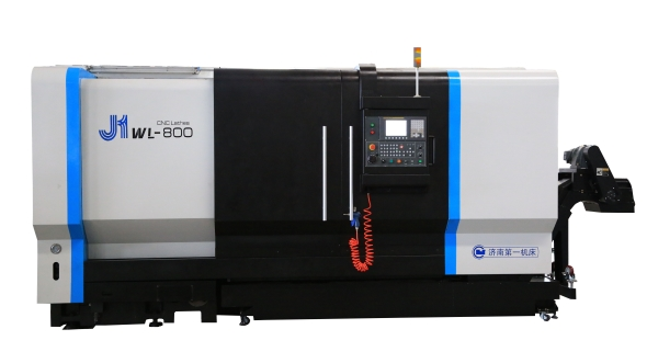 J1WL-800    CNC lathe with slant bed for machining aluminum wheel hub