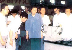 On July 15, 1991, Vice Premier Zhu Rongji came to Jinan for inspections
