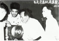 On July 2, 1958 Chairman of the CPC Central Committee Chairman Mao Zedong visited the C616 lathe produced in Jinan, in Zhongnanhai, Beijing.