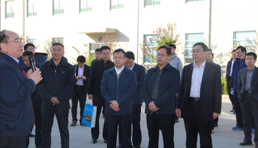 The All-China Federation of Industry and Commerce Appraisal Team visited Jinan for investigation and investigation